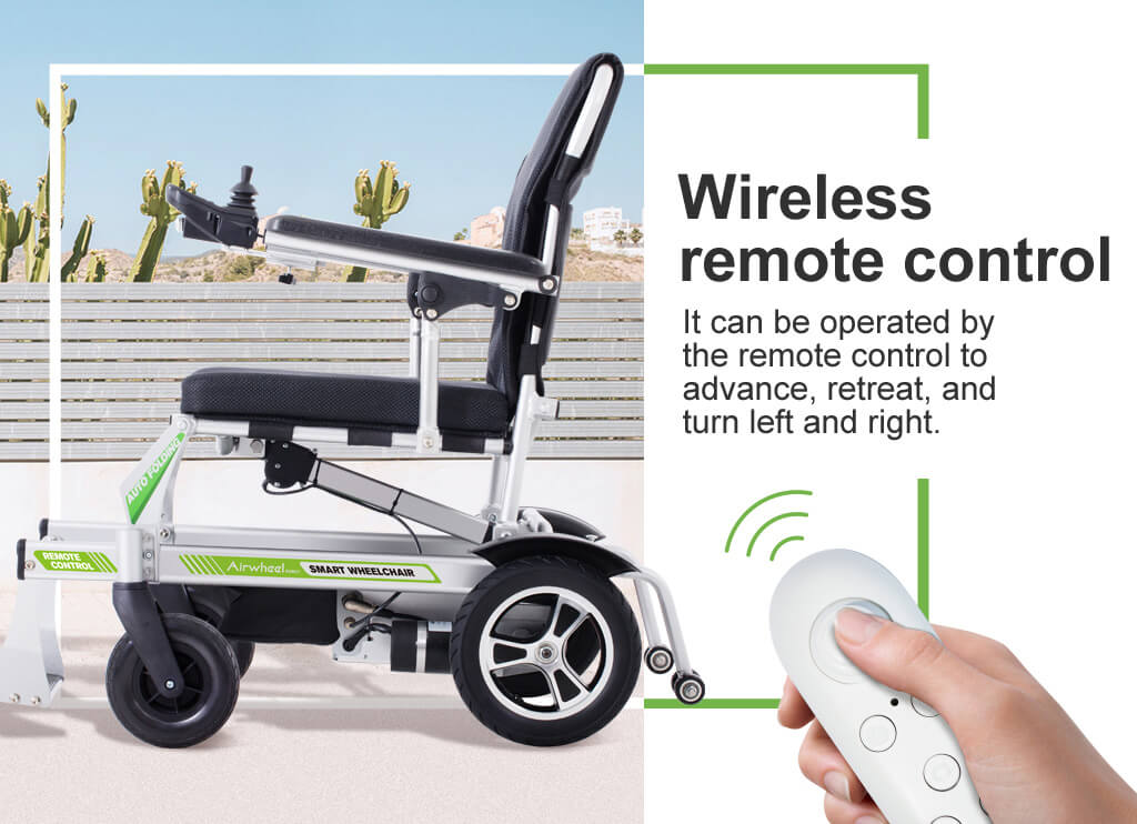 Airwheel H3PC Smart Ultra lightweight foldable portable electric wheelchair
