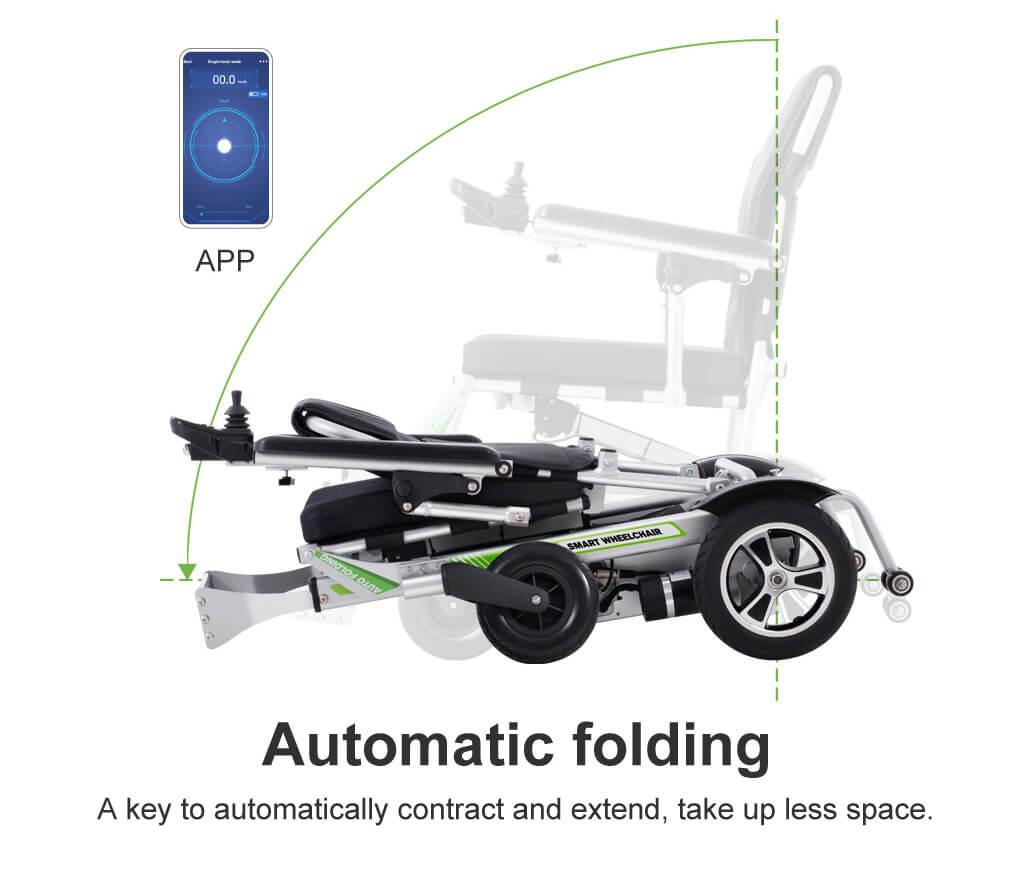 Airwheel H3PC Smart Ultra lightweight portable electric wheelchair