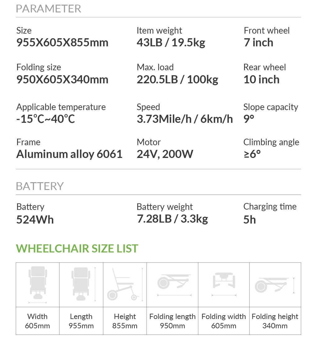 Airwheel H3PC Powerful high-speed motor