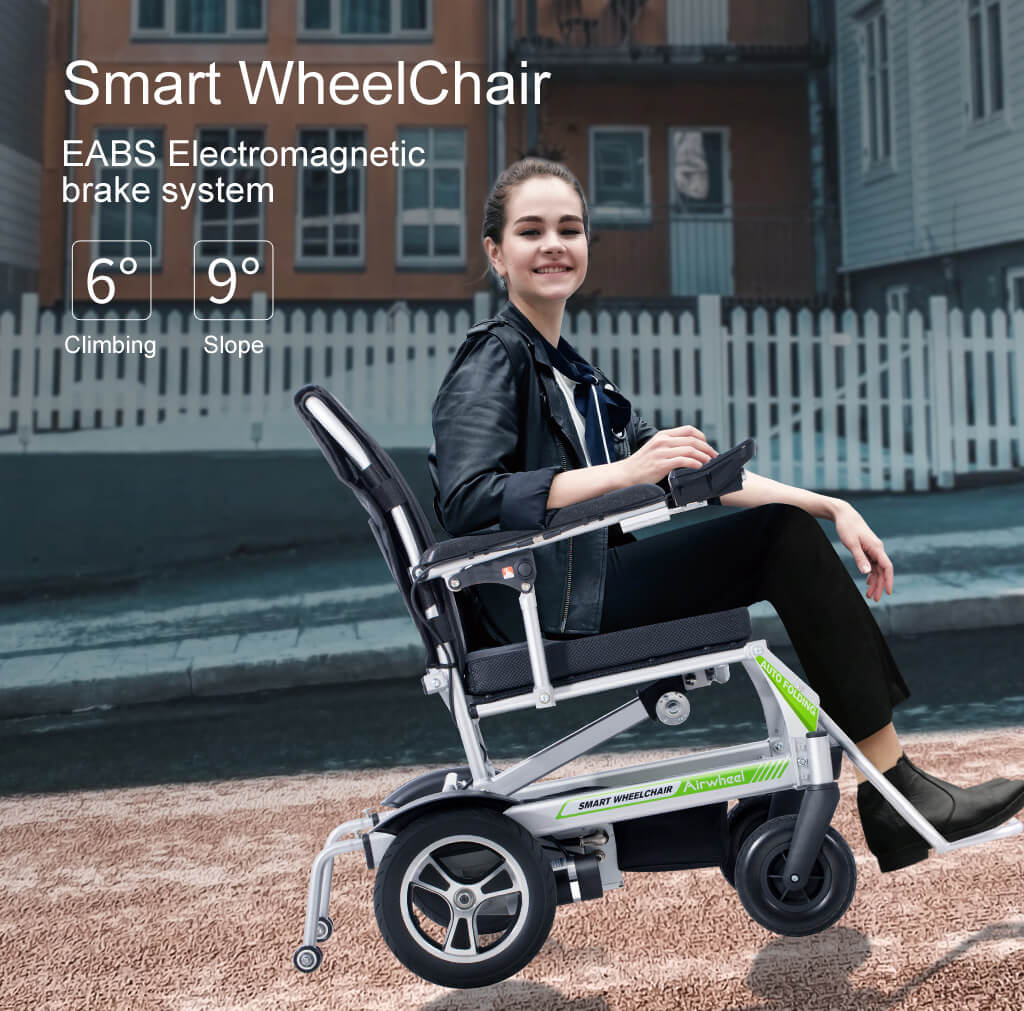 Airwheel H3PS Automatic folding wheelchair with Invention patent