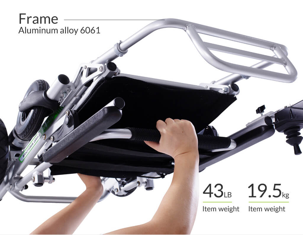 Airwheel H3PS Powerful high-speed motor
