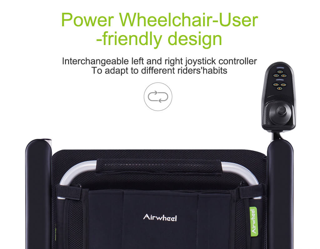 Airwheel H3T Automatic folding wheelchair with Invention patent