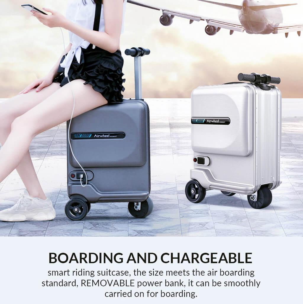 Airwheel SE3Mini ride on suitcase