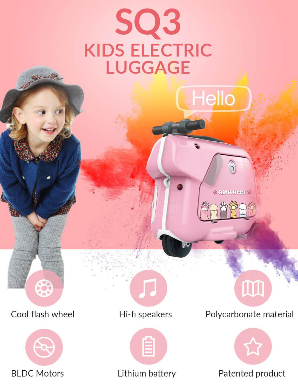 Airwheel SQ3 Kids smart music suitcase