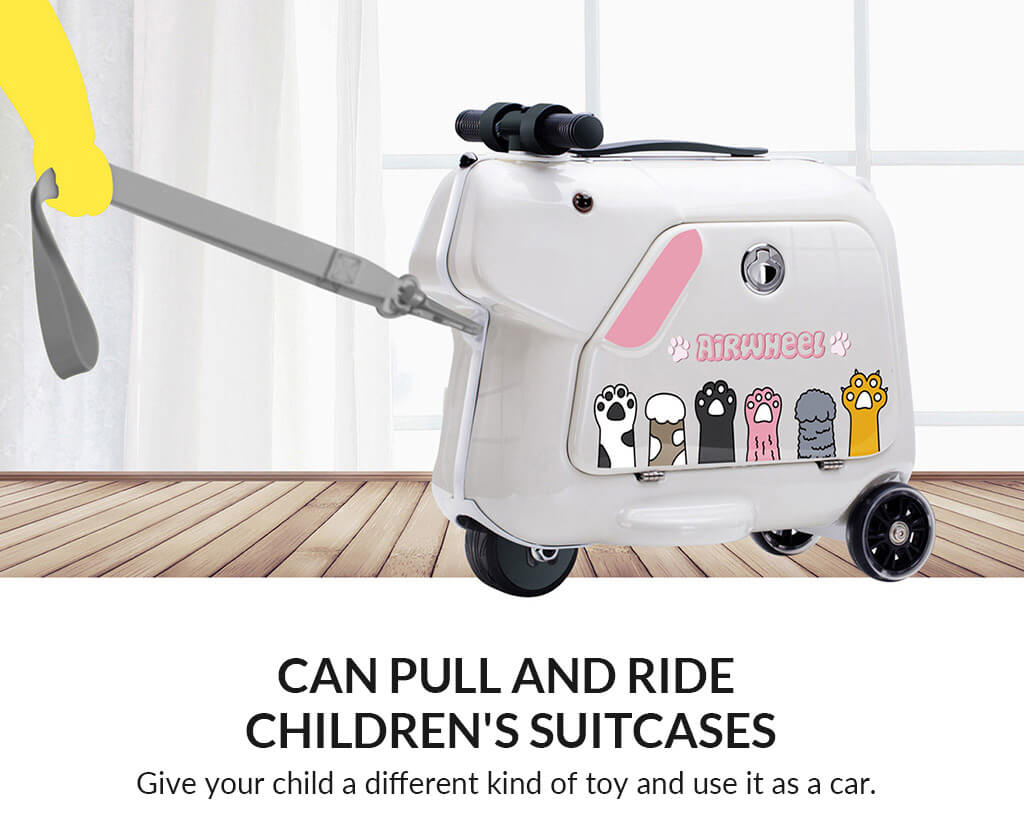 Airwheel SQ3 Kids scooter luggage