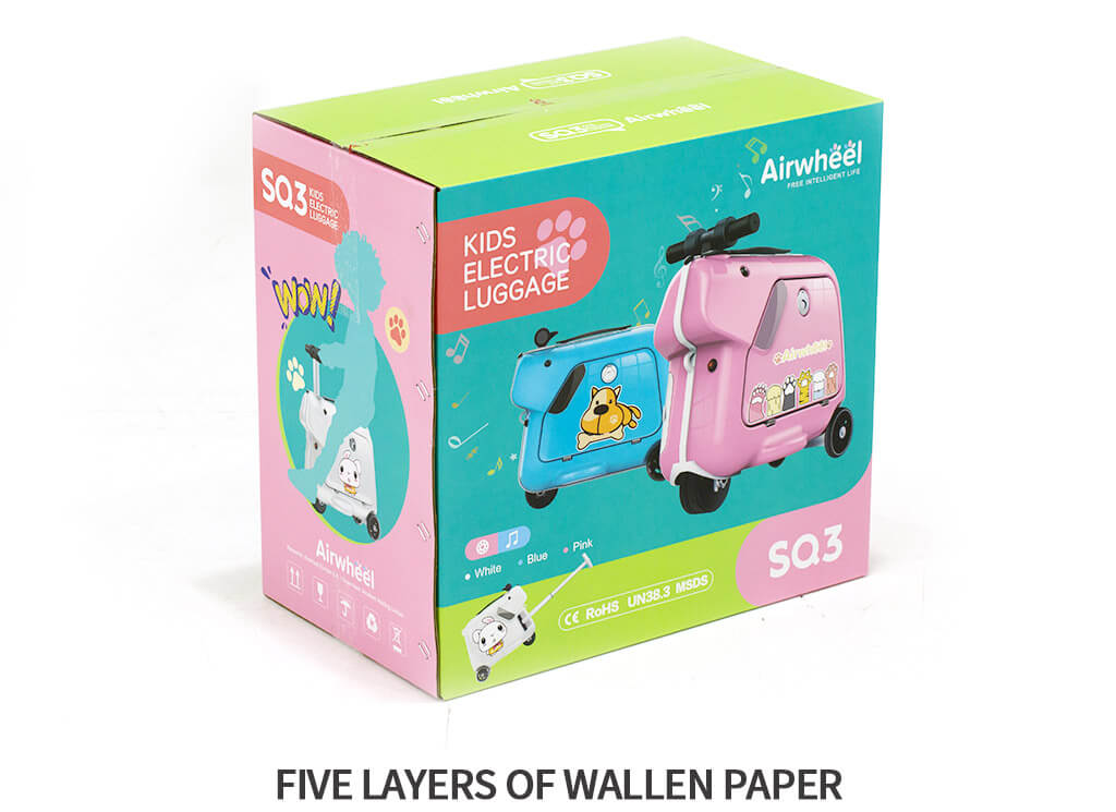 Airwheel SQ3 Kids carry on luggage