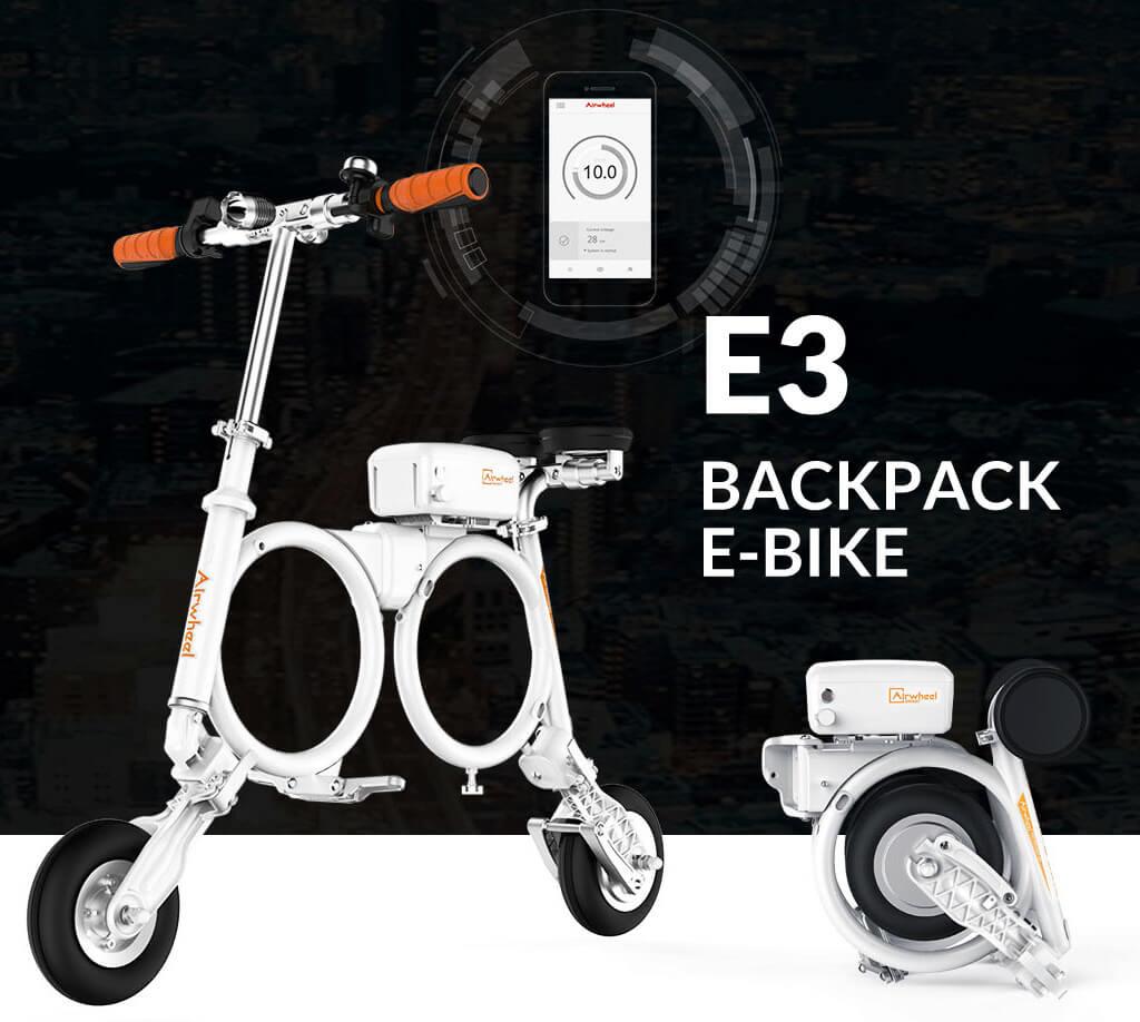 airwheel E3 folding electric bike