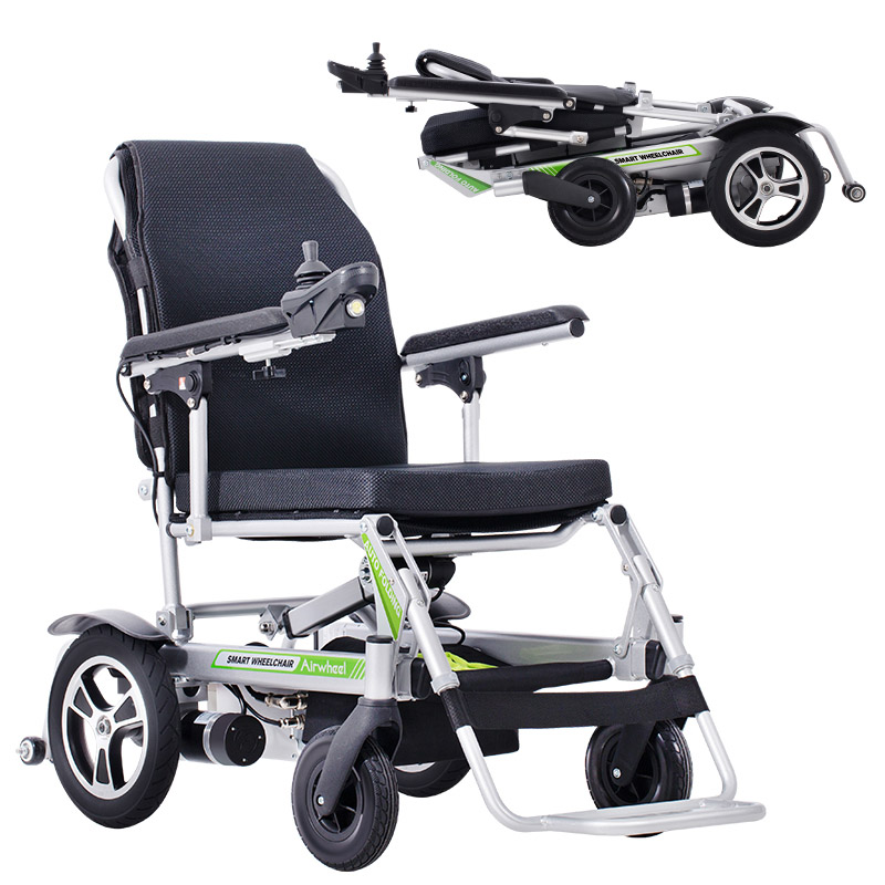 Airwheel foldable portable electric wheelchair